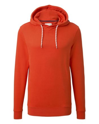 Tom Tailor Sweat-Shirt hoodie with print, Grenadine Red Red