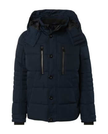 Tom Tailor Herren Jacke puffer jacket, Sky Captain Blue Blue