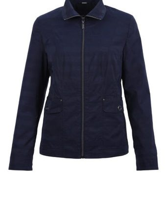 Lebek Damen Jacke Jacke Inbetween, navy