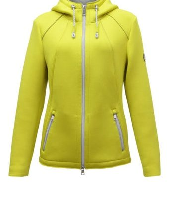 Lebek Damen Jacke Jacke Inbetween, lemon