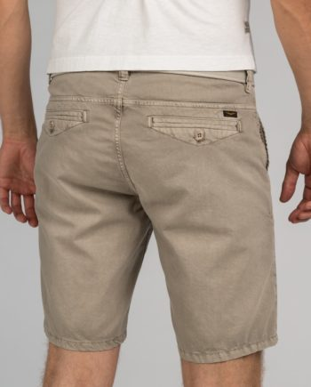 Pme Herren Shorts Cotton Linen DOBBY CHINO SHORT, London Fog