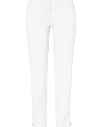 TONI Damenhose Perfect Shape Zip 7/, white