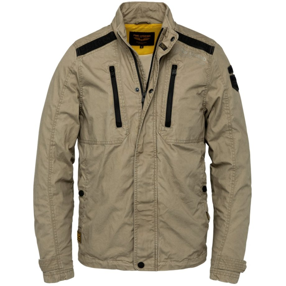 Pme Herren Jacke Zip Jacket Airpack Mini Canvas