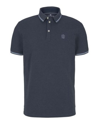 Tom Tailor Herren Poloshirt in Blau