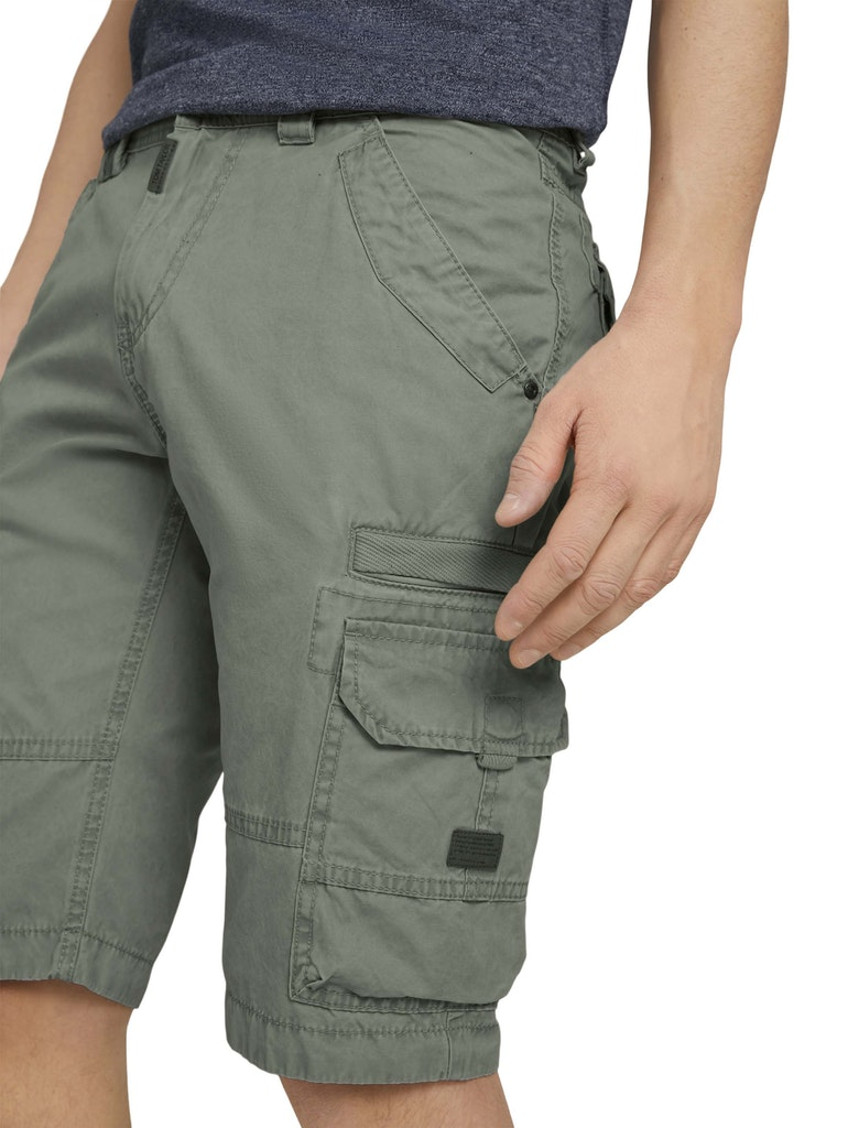 Tom Tailor Herren Cargo Bermuda Shorts